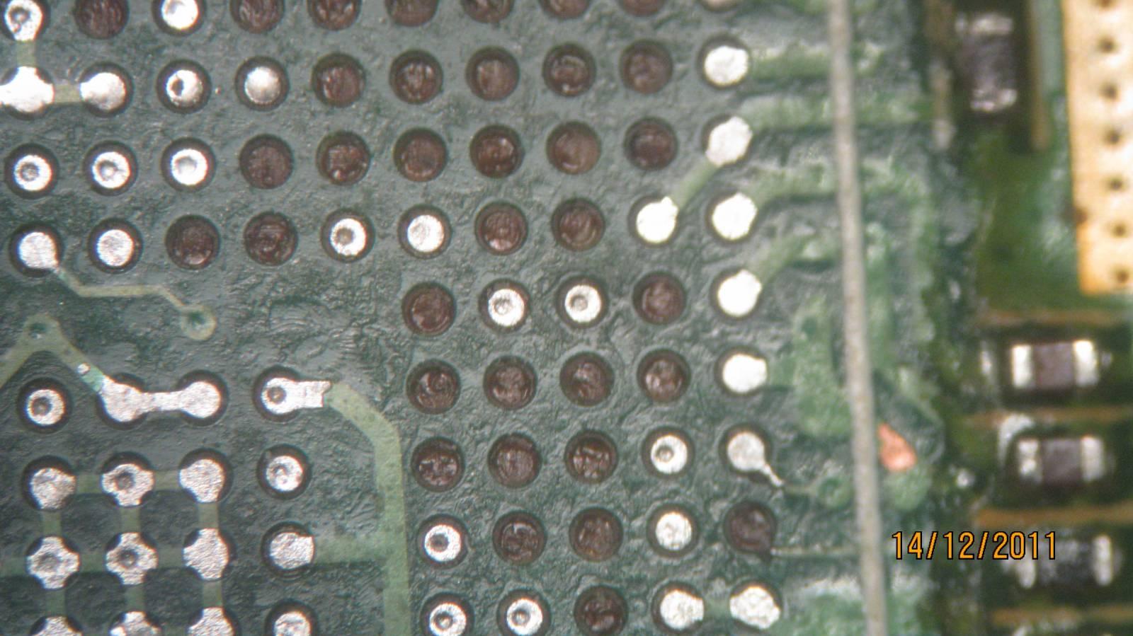 оторванные пяточки под чипом